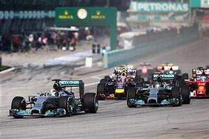 F1马来西亚站汉密尔顿夺冠梅奔揽前2维泰尔季军