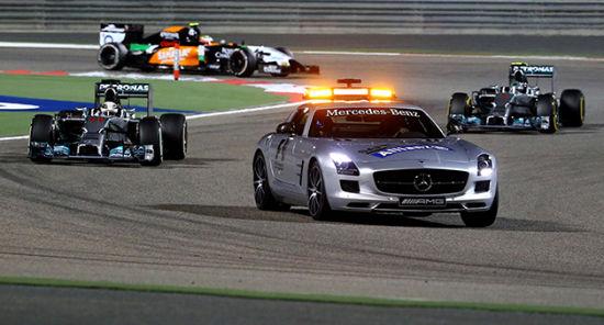 F1明年考虑修改安全车规则 被套圈赛车不在需要反套。