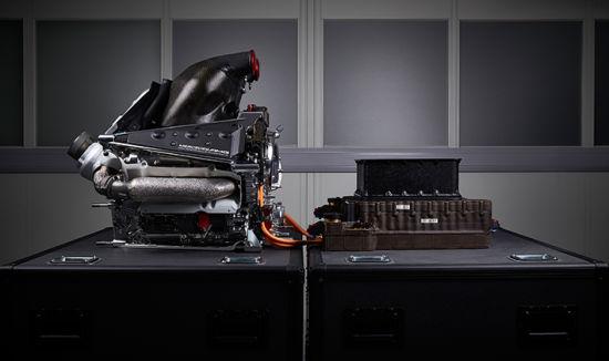 梅赛德斯2014年的F1动力单元。