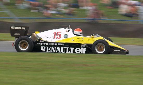 雷诺1983年的F1赛车RE40