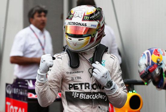 汉密尔顿首次在摩纳哥夺F1杆位