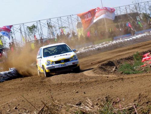 图文-2006CSC抚顺高湾站决赛日Polo赛车疯狂加速