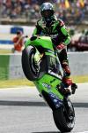 图文-MotoGP西班牙站排位赛川崎车队霍普金斯