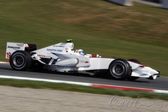 图文-F1西班牙站第一次练习亚久里继续参赛