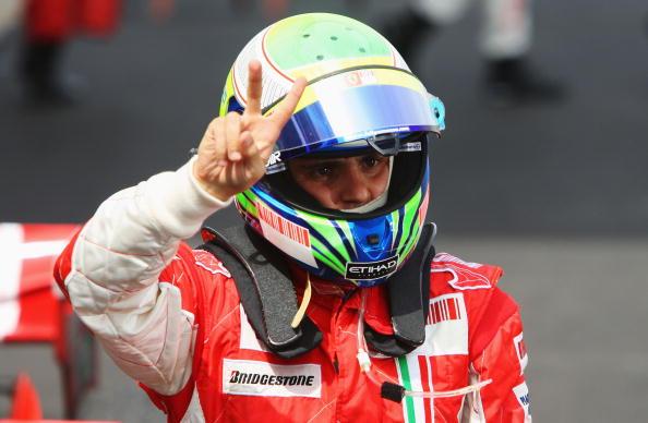 图文-F1西班牙站正赛马萨:我们赢了!我第二