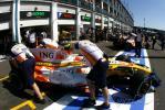 图文-F1法国站第三次练习赛小皮奎特回站