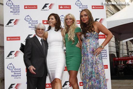 图文-伦敦F1慈善PARTY伯尼在家中海拔最低