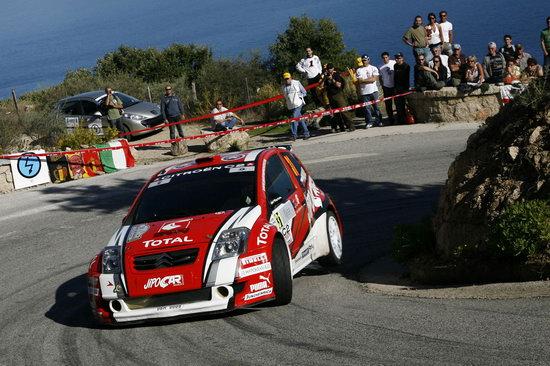 图文-WRC法国站勒布称霸雪铁龙C2小巧玲珑