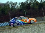 图文-全锦赛成都站2000cc排位长安福特车队左小龙