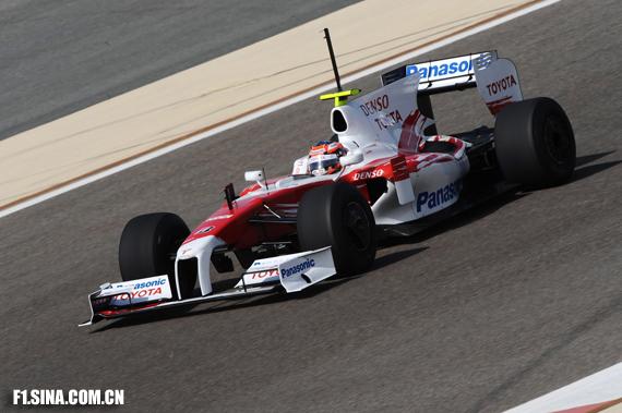 图文-F1巴林试车次日格洛克的丰田成绩垫底