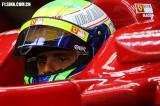 图文-F1巴林试车(2月18日)马萨坐在驾驶舱中平静的眼神