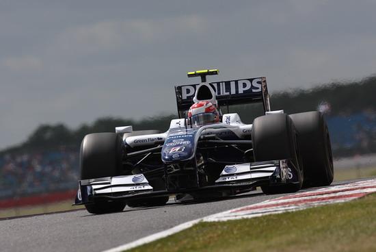 图文-F1英国站图片精选威廉姆斯车手中岛