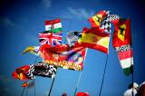 法拉利与西班牙旗很搭调