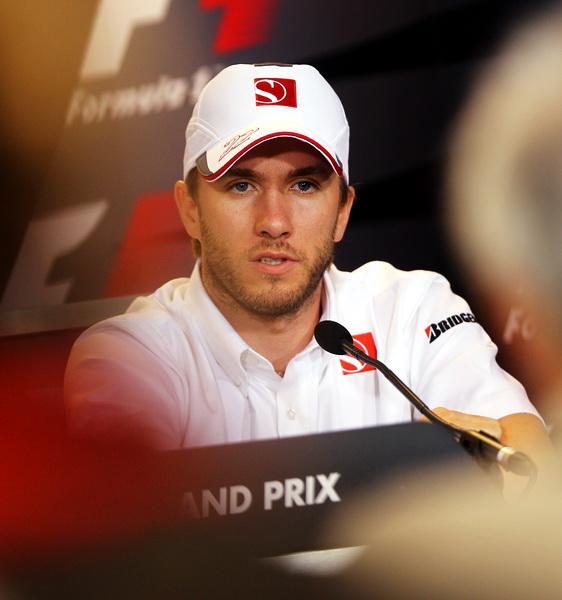 图文-F1新加坡站周四发布会海德菲尔德发表回归宣言
