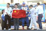 展示中国国旗