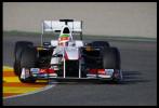 图文-F1车队瓦伦西亚试车次日 索伯C30涂装变化很大