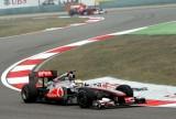 汉密尔顿练习赛试车