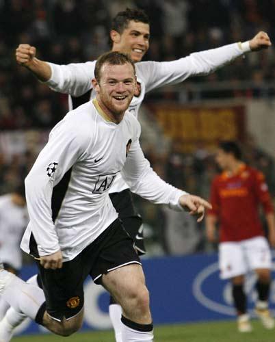 鲁尼赞C罗超五巨星英超历史最佳前队友:梅西不如他