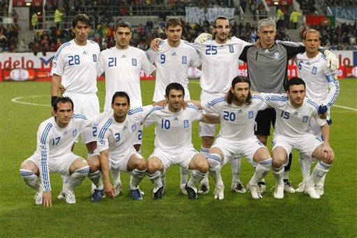 希腊队公布欧洲杯23人最终名单:天才后卫成最后落选者