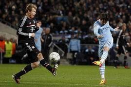欧冠-曼城2-0胜拜仁10分仍出局那不勒斯2-0出线