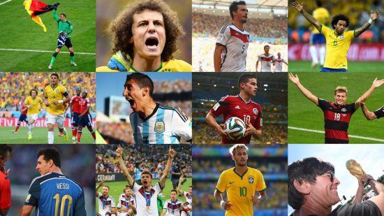 世界杯梦幻阵容