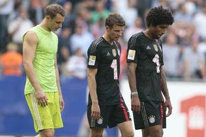 德甲-罗本受伤拜仁客平汉堡多特失点两中柱0-2负