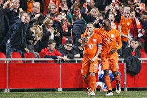 欧预赛-亨特拉尔93分钟扳平荷兰落后榜首6分