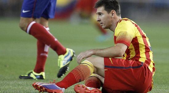 巴萨官方宣布梅西受伤,恐缺席周末联赛