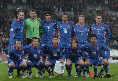 图文-2008年欧锦赛16强预计首发东欧劲旅克罗地亚
