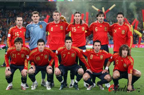 图文-2008年欧锦赛16强预计首发西班牙斗牛士军团