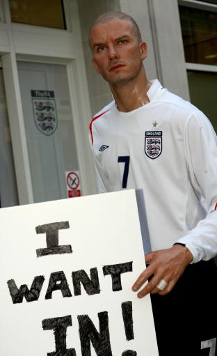 图文-卡佩罗公布英格兰名单小贝落选我想进国家队