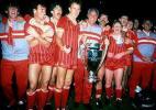 老照片-利物浦第4次夺得冠军杯大耳金杯属于红军