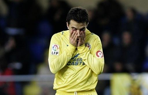"""图文-[西甲]比利亚雷亚尔0-0桑坦德罗西""""哭鼻子"""""""