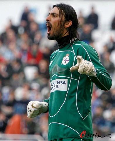 图文-[西甲]拉科鲁尼亚2-0西班牙人阿瓦特怒吼庆胜利