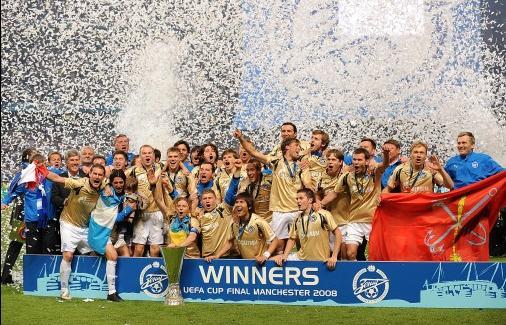 图文-泽尼特问鼎欧洲联盟杯冠军联盟杯新霸主诞生