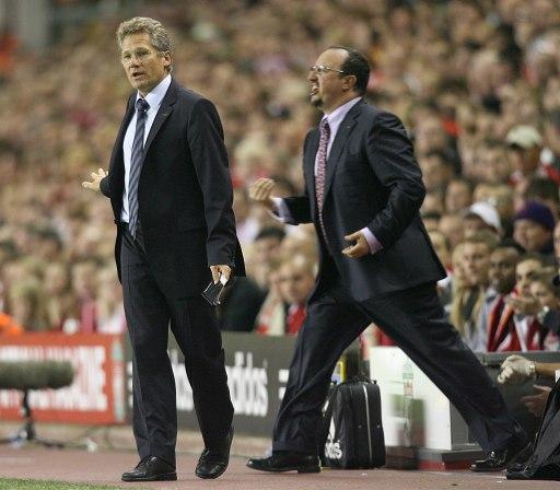 利物浦VS标准列日 他让贝尼特斯气急败坏