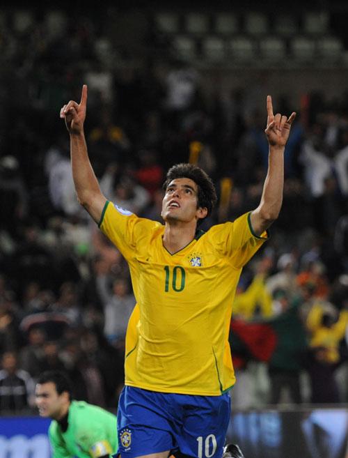图文-[联合会杯]巴西4-3埃及卡卡点球完美绝杀