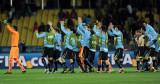 乌拉圭队感谢观众