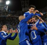阿根廷队球员欢庆