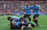 乌拉圭开心庆祝