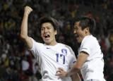 李青龙庆祝进球