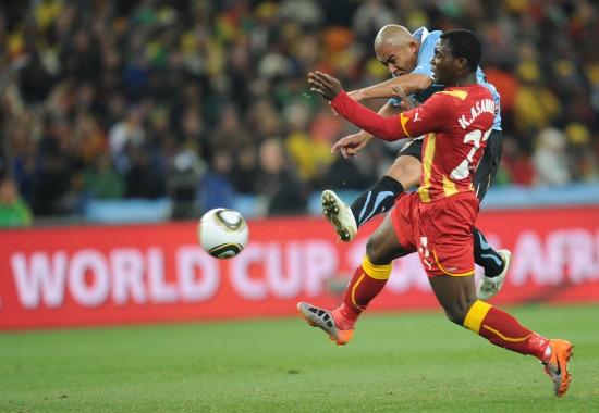 图文-[1/4决赛]乌拉圭VS加纳阿-里奥斯远射