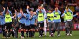 乌拉圭球员致意