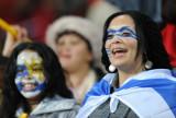 乌拉圭球迷等待比赛