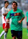 梅西进球很高兴