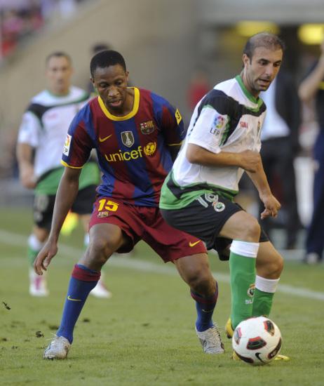 图文-[西甲]桑坦德0-3巴塞罗那凯塔在队中不可或缺