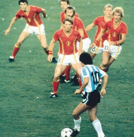 86世界杯上的马纳多纳