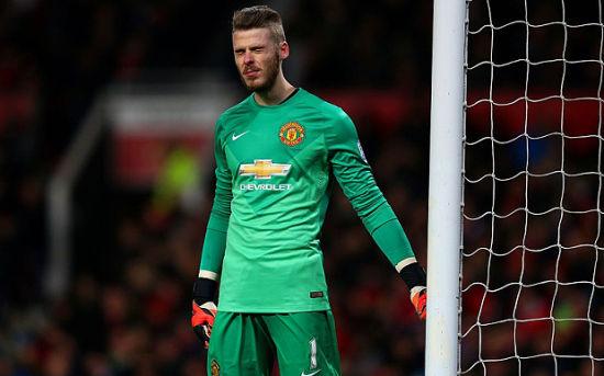 英媒称曼联在德赫亚的成绩下面对困境