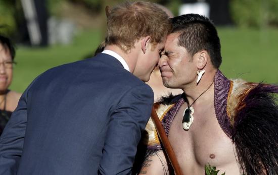 哈里王子出访新西兰