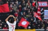 罗比尼奥庆祝进球